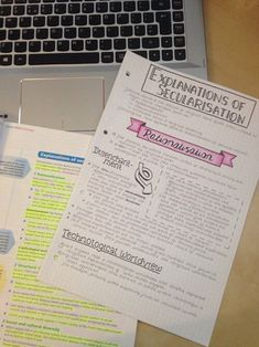 study and notes afbeelding