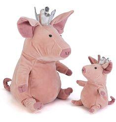 Sweet pig princess #softtoy #jellycat