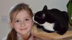 When the Jansa Family adopted a small rescue cat, Pretty Pippa, from the RSPCA in Kent, UK, they never dreamed the kitty would save the life of the family's 8-year-old daughter, Mia – over and over again.