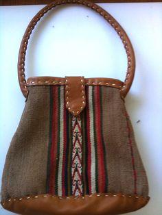 Peruvian textile evening bag