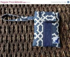 iPhone 5 wallet Personalized by CraftyStitches