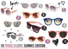 10 summer sunnies