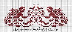 Steekjes & Kruisjes van Marijke: Gratis patroontje Mounette