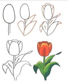 Doodle Art Doodle Drawings Flower Art Watercolor Flowers Watercolor Paintings Easy