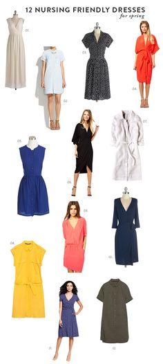 12 nursing friendly dresses