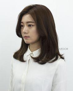 bold volume perm #medium #hair #beauty #cut #chahongardor