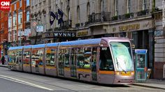 Dublin, Ireland& capital city, sits on the east coast. Visit Dublin, Ireland Travel, Dublin Ireland, Light Rail, Capital City, Long Distance, East Coast, Travel Photos