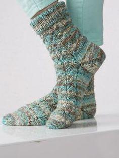 Gletscher Color Socken Anleitung