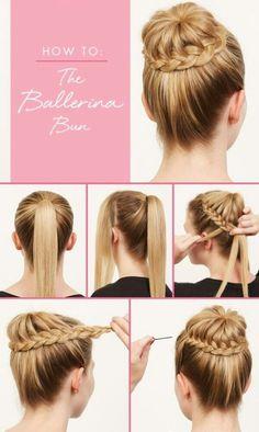 hair tutorial | #braided | ponytail | easy for beginners | step by step | bun