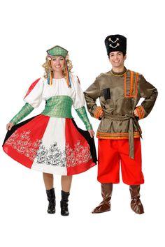 Disfraz de rusos para parejas