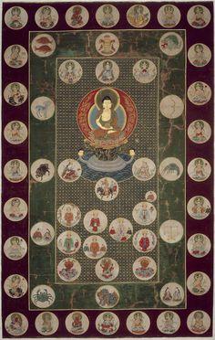 Japanese Painting, Japanese Art, Buddhist Meditation Techniques, Japanese Buddhism, Tibet Art, Thangka Painting, Buddhist Art, Sacred Art, Museum Of Fine Arts