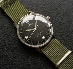 A Rare Standard Issue Omega Seamaster 30 for the Pakistan Air Force