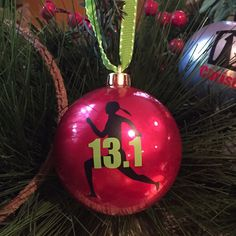 A personal favorite from my Etsy shop https://www.etsy.com/listing/245123217/personalized-christmas-ball-ornament