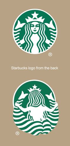 Community Post: The New Starbucks Logo From Behind