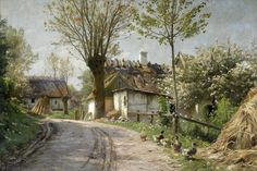Художник Peder Monsted
