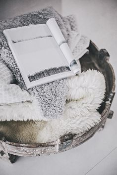 Blankets offer more than just warmth -- it's cozy and comfortable.