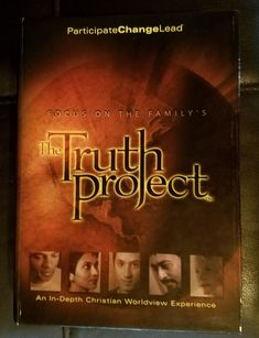 Focus on the Family's The Truth Project 8 DVD Disc Boxset Set, Small Group Study