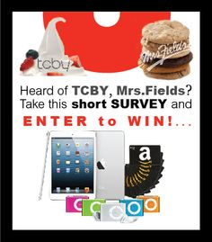 TCBY Quick Survey WIN Awesome Prizes!!Couponing as a lifestyle