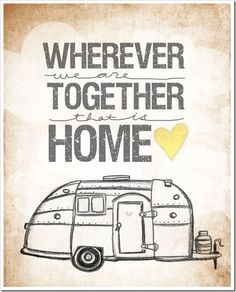 camper print. On the wish list after the boat!