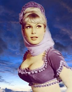 celebrities dont you just LOVE Them ! Barbara Eden, Classic Actresses, Hollywood Actresses, Actors & Actresses, I Dream Of Jeannie, Beautiful Celebrities, Most Beautiful Women, Classic Hollywood, Old Hollywood
