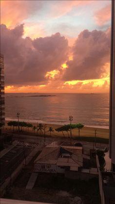 Nascer do sol  - Itapuã   #vilavelha #ES #brasil #love #paisagem #like conhecendoomundo