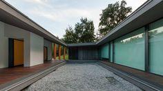 Casa NP (NP House) 2013 - Concluída Vista a partir do pátio para sul  photo © #ArménioTeixeira design © #NOARQ, #JoséCarlosNunesdeOliveira