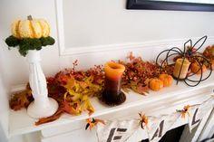 AK Complete Home Renovations, Atlanta - President's Blog: Fall Decor: 5 Fabulous Fall Mantles