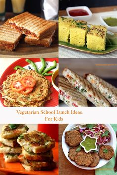 Vegetarian School lunch ideas approved by kids Vegetarian Meals For Kids, Tasty Vegetarian Recipes, Healthy Snacks For Kids, Kids Meals, Easy Meals, Healthy Recipes, Best Lunch Recipes, Snack Recipes, Favorite Recipes