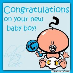 Baby boy congratulations quotes quotesgram babiesinfantstitles new baby large greeting cards m4hsunfo