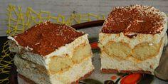 Ciasto cappuccino w 20 minut Chorizo, Tiramisu, Baking, Ethnic Recipes, Eten, Bakken, Bread, Backen, Tiramisu Cake
