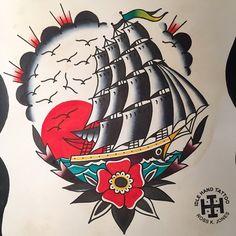 An artist I've been following on IG #rosskjones #idlehandtattoo #tattoos #ink