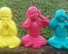 Monges sábios trio