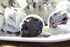 Oreo Balls.  I don't know why but this 3 ingredient dessert intimidated me.  I found...