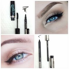Which one is your favorite combo? #isadora #mascara #eyeliner #combo #eyes #makeup