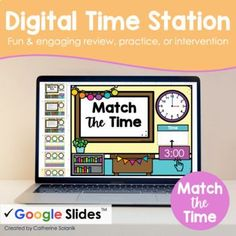 Digital Time Station | Match the Time | Google Slides by Catherine Solanik This resource is a Bundle that includes 8 Digital Time Stations made for Google Slides & Forms. Activities have been carefully designed and build in complexity to address gaps in prior grade-level skills and work to move students towards mastery of 3rd-grade time standards.Stations can be used in order to build in complexity or pick and choose by topic and use only the stations your students need! Teacher Created Resources, Teacher Resources, Secondary Math, Guided Math, Math Classroom, Math Centers, Homeschool, Student, Messages