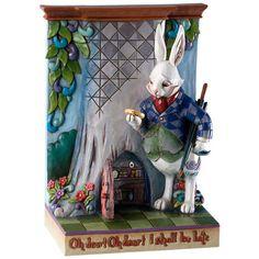 Have it....jim shore alice in wonderland | Jim Shore Alice in Wonderland White Rabbit 4013029 | eBay
