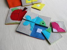 Soft puzzle / Busy Bag / Montessori / Early years by PopelineCo