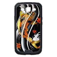 SOLD! &49.95 Cool #oriental #japanese #Gold #Lucky #Koi #Fish #tattoo #Samsung #Galaxy #SIII #Cases #smartphone #gift