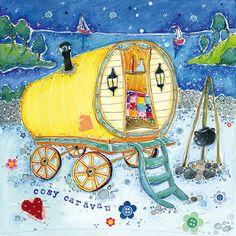 Cosy caravan by Susie Grindey