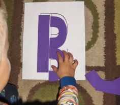 Great tool for teaching the alphabet and fine motor skills!