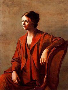 Olga, 1923 - Pablo Picasso