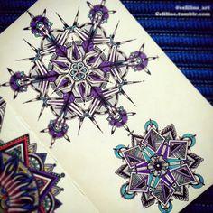 Zentangle - 2 stars....