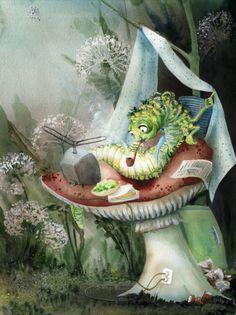 Joanna Pasek | Alice in Wonderland | Caterpillar
