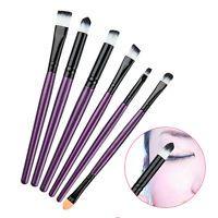 6Pcs Makeup Brush Sets Cosmetic Foundation Eyeshadow Eyeliner Lip Brush