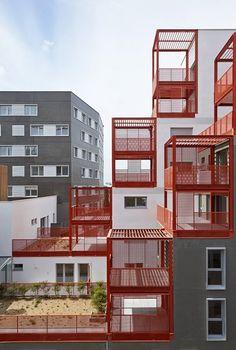 Жилой комплекс в Париже, Atelier Du Pont