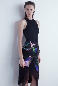 with a impact/architectural vibe or the other way around- Josh Goot | Pre-Fall 2015 - with a touch of archtectural