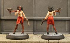 The Color Blind Model Painter: Zombtober Week II - Zombicide Toxic City Mall Survivors
