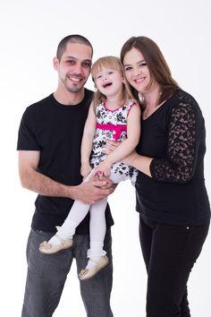 Ensaio de família, com Luiza, Michely e César Prado.
