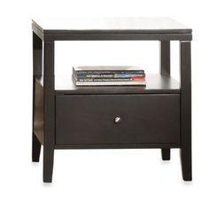 Verona Home Sleek One Storage End Table - BedBathandBeyond.com  $239.99 Quantity: down up