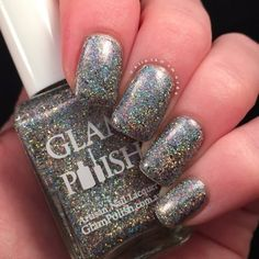 Glam Polish Life Of Pi Duo | Polish and Paws | Glimmer Of Hope | Glitter Holographic Nails | Australian Aussie Indie Polish | Mei Mei's Signatures